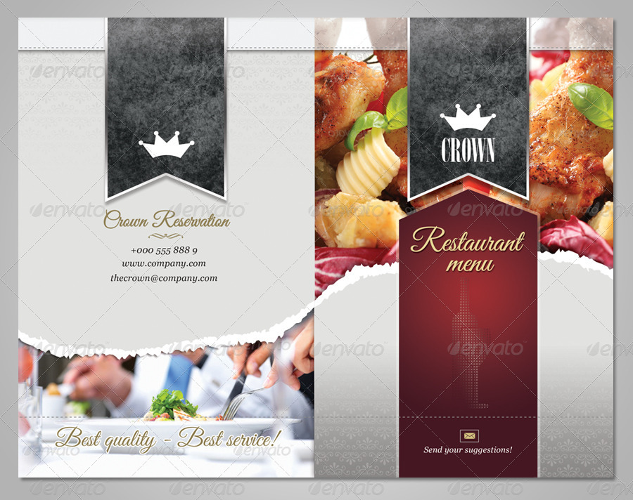 restaurant menu template