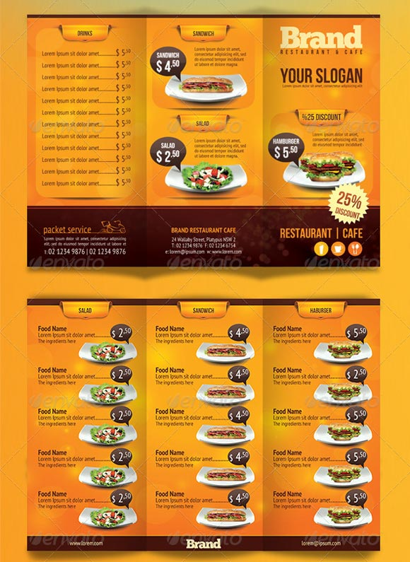 Trifold-Cafe-Menu