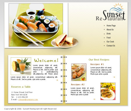 Doc626626 Restaurant Menu Free Template Restaurant menu – Free Food Menu Template