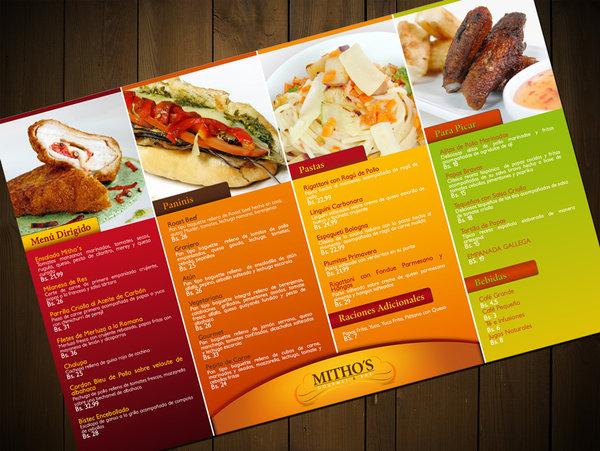 menu format