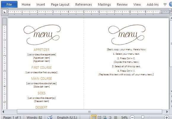 Menu template word create a five course dinner and impress your d8854615d9ce49128a0272d086d73368f5t039 dacfefe23062a1487938dfa8719ab97c free menu template1 217x300 maxwellsz